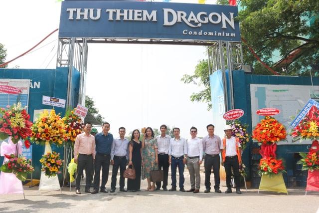 Lễ cất nóc Thủ Thiêm Dragon quận 2 - 1