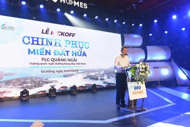 """Gần 1000 """"thủy thủ"""" hừng hực khí thế ra khơi tại chuỗi sự kiện kick-off Chinh phục miền đất hứa FLC Quảng Ngãi - 4"""