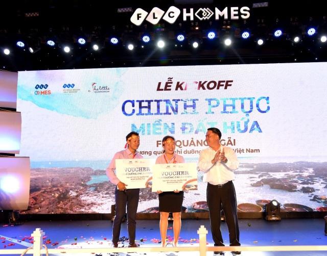 """Gần 1000 """"thủy thủ"""" hừng hực khí thế ra khơi tại chuỗi sự kiện kick-off Chinh phục miền đất hứa FLC Quảng Ngãi - 7"""