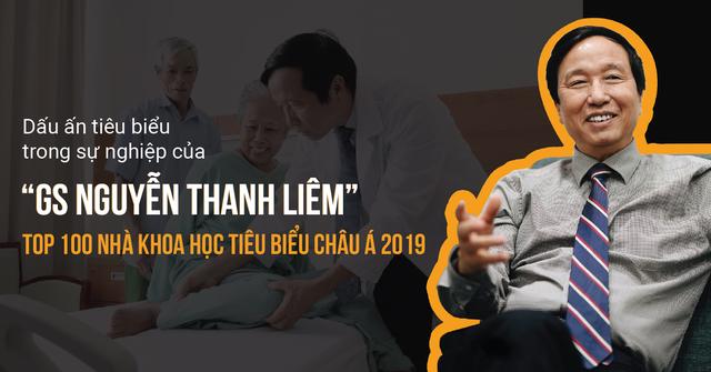 Dấu ấn trong sự nghiệp của GS Nguyễn Thanh Liêm - TOP 100 nhà khoa học tiêu biểu Châu Á 2019 - 1