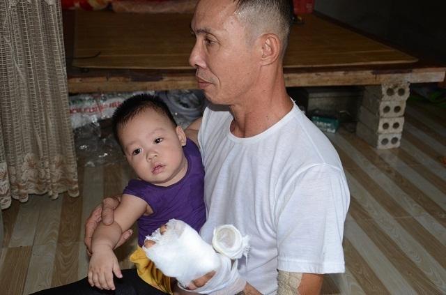Bạn đọc Dân trí giúp đỡ bé 9 tháng tuổi mồ côi mẹ hơn 90 triệu đồng - 2