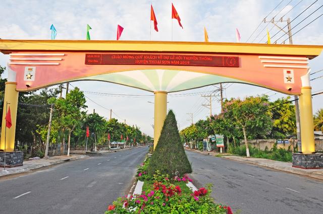 Cuối năm 2019, An Giang hoàn thành Chương trình xây dựng nông thôn mới - 1