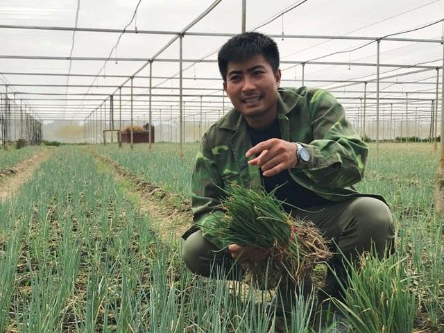 """Lãng tử 9X xứ Thanh bỏ lương """"khủng"""" về làng trồng...hành - 1"""