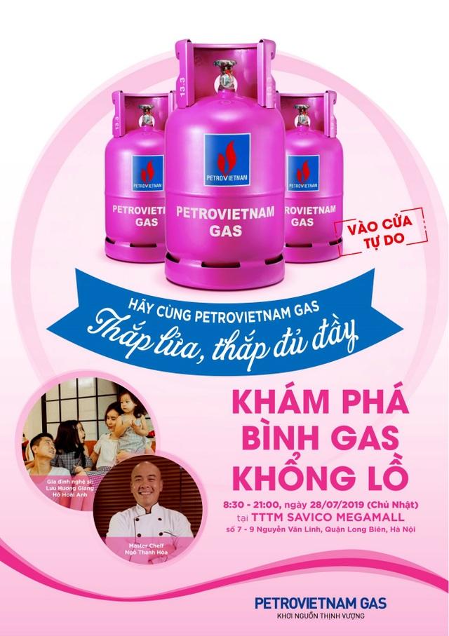 Ngày hội PETROVIETNAM GAS – Thắp lửa, Thắp đủ đầy : Kết nối gia đình Việt - 2
