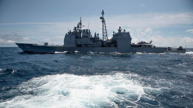 Mỹ tiếp tục đưa tàu chiến qua eo biển Đài Loan - 1