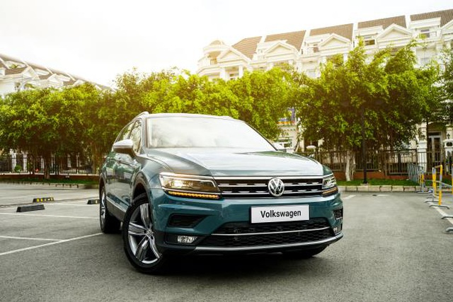 Tiguan - Ngôi sao doanh số của Volkswagen - 1
