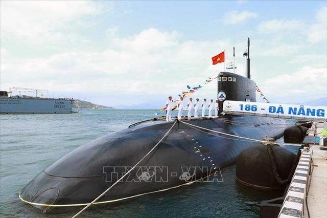 """Cận cảnh 6 """"Hố đen đại dương"""" thuộc Lữ đoàn Tàu ngầm của Hải quân Việt Nam - 1"""
