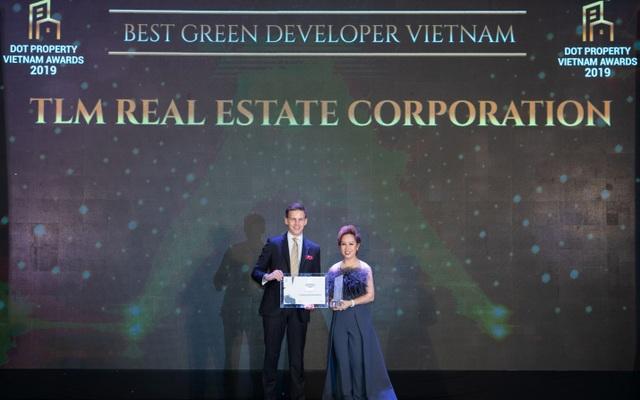 Tập đoàn Bất động sản TLM đạt cú đúp giải thưởng tại Dot Property Vietnam Awards 2019 - 1