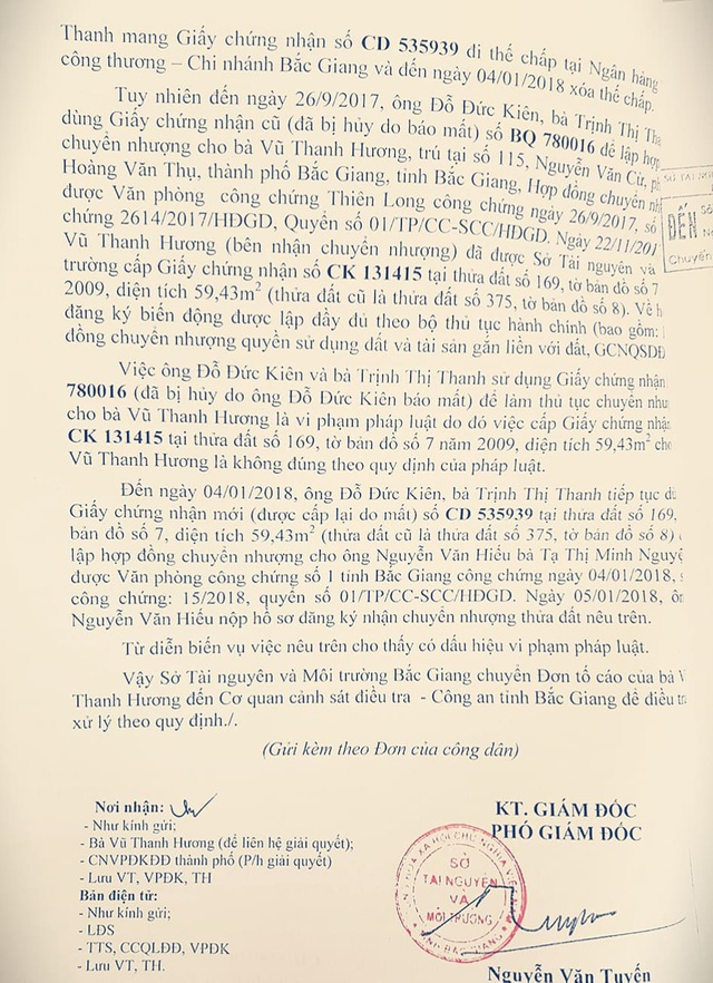 """Bí ẩn vụ """"thai nghén"""" những cuốn """"sổ đỏ ma"""" trong quả lừa chấn động tỉnh Bắc Giang - 2"""