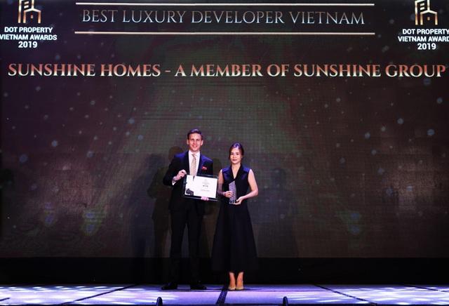 Sunshine Group chiến thắng vang dội với 5 giải thưởng danh giá tại Dot Property Awards 2019 - 1