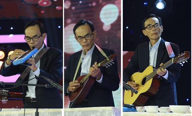 """Nghệ sĩ 62 tuổi chơi đàn chén """"Độ ta không độ nàng"""" khiến Kim Tử Long nể phục - 1"""