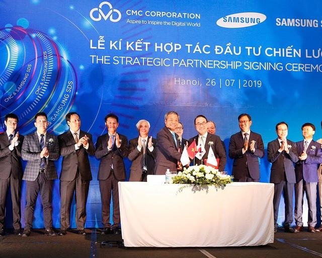 Samsung SDS mua cổ phần, đầu tư chiến lược vào tập đoàn CMC - 1
