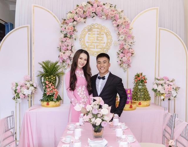 Em gái tài giỏi, xinh đẹp của Hoa hậu Ngọc Diễm kết hôn ở tuổi 23 - 6