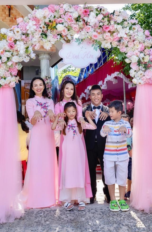 Em gái tài giỏi, xinh đẹp của Hoa hậu Ngọc Diễm kết hôn ở tuổi 23 - 8