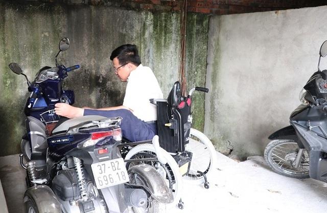 Người công nhân khuyết tật Vũ Thanh Hồng - tấm gương vượt lên số phận - 3