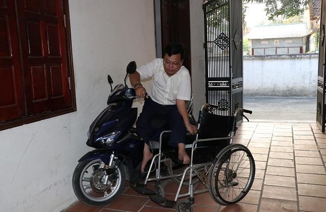 Người công nhân khuyết tật Vũ Thanh Hồng - tấm gương vượt lên số phận - 4