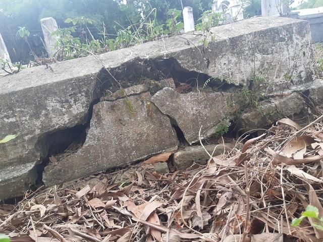 Gần 100 ngôi mộ liệt sĩ bị sụt lún, nứt nẻ: Chạnh lòng niềm tri ân! - 8