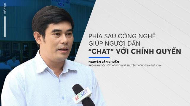 """Phía sau công nghệ giúp người dân """"chat"""" với chính quyền - 1"""