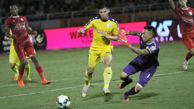 Quang Hải ghi bàn, CLB Hà Nội hòa TPHCM trong trận cầu có 2 thẻ đỏ - 6