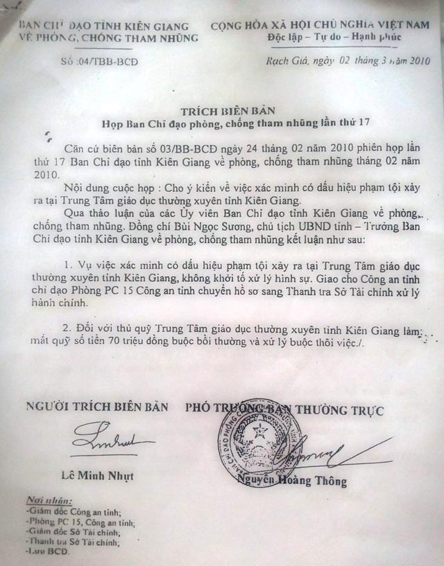 Bài 8: Lá đơn đẫm nước mắt gửi đến Bí thư Tỉnh ủy Kiên Giang! - 3