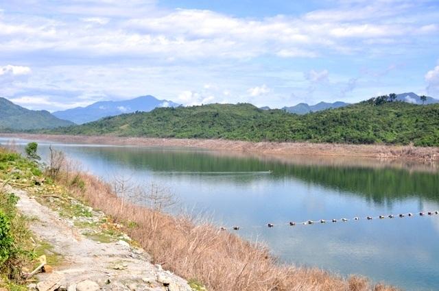 Nhiều hồ thủy điện ở Quảng Nam cạn đáy