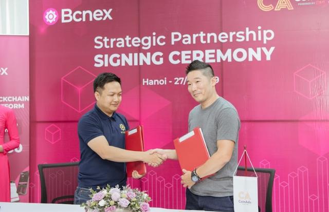 Sàn giao dịch Bcnex bắt tay CoinAds, vươn ra quốc tế - 1