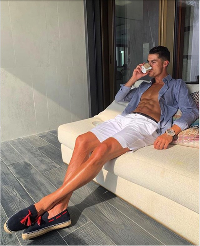 C.Ronaldo kiếm gần 1 triệu USD cho mỗi lần 'sống ảo' - 1