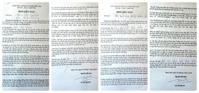 Bài 8: Lá đơn đẫm nước mắt gửi đến Bí thư Tỉnh ủy Kiên Giang! - 6