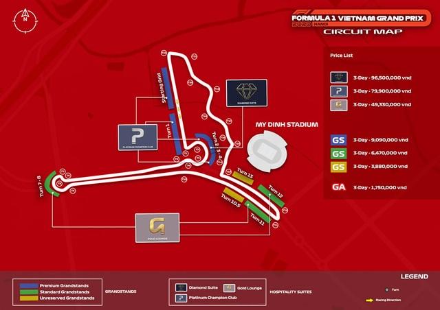Những đoạn đường đua F1 đầu tiên tại Hà Nội đã thành hình - 3