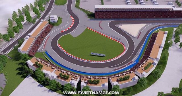 Những đoạn đường đua F1 đầu tiên tại Hà Nội đã thành hình - 7
