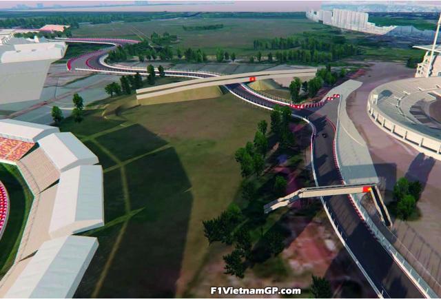 Những đoạn đường đua F1 đầu tiên tại Hà Nội đã thành hình - 6