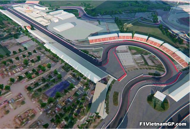 Những đoạn đường đua F1 đầu tiên tại Hà Nội đã thành hình - 5
