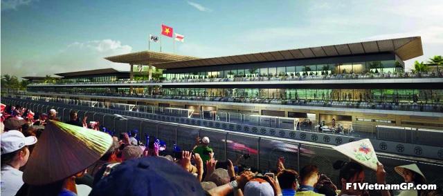 Những đoạn đường đua F1 đầu tiên tại Hà Nội đã thành hình - 4