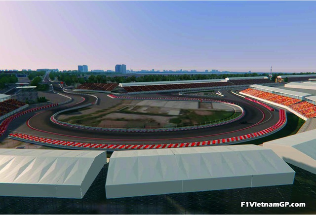 Những đoạn đường đua F1 đầu tiên tại Hà Nội đã thành hình - 10