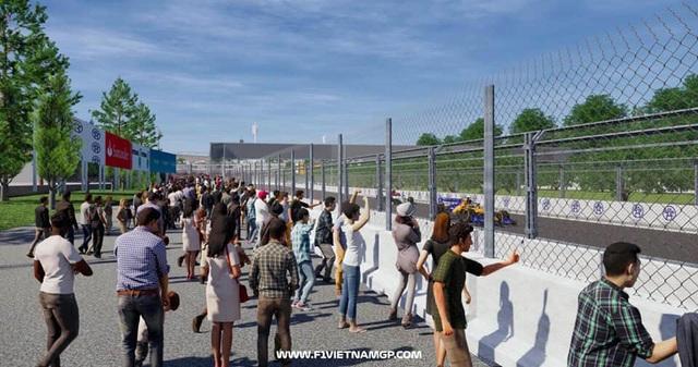 Những đoạn đường đua F1 đầu tiên tại Hà Nội đã thành hình - 13