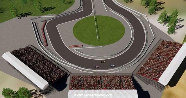Những đoạn đường đua F1 đầu tiên tại Hà Nội đã thành hình - 11
