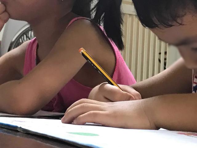 Hết hơi theo lịch học chữ trước khi vào lớp 1 - 2