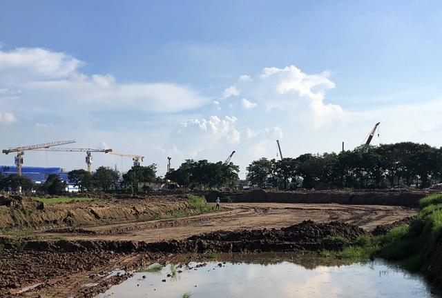 Những đoạn đường đua F1 đầu tiên tại Hà Nội đã thành hình - 2