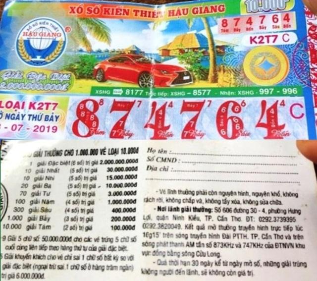 Vĩnh Long: Người bán vé số dạo hoang mang với vé số giả - 3