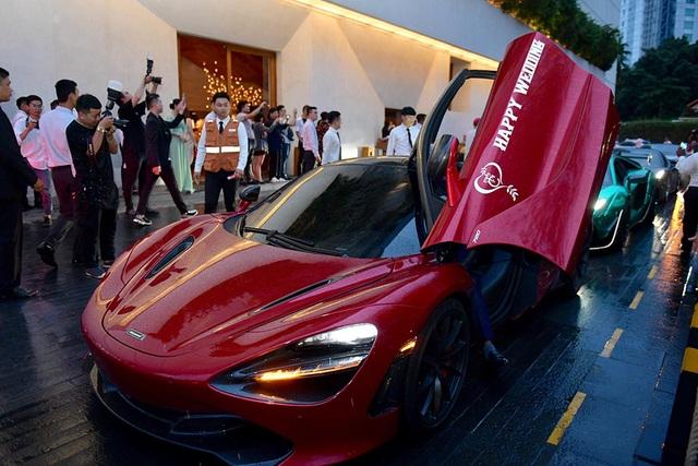 Choáng với dàn siêu xe đến dự đám cưới Cường Đôla và Đàm Thu Trang - 3