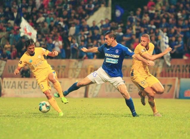 Bị Than Quảng Ninh cầm chân, Khánh Hoà vẫn bị bỏ xa ở cuối bảng - 1