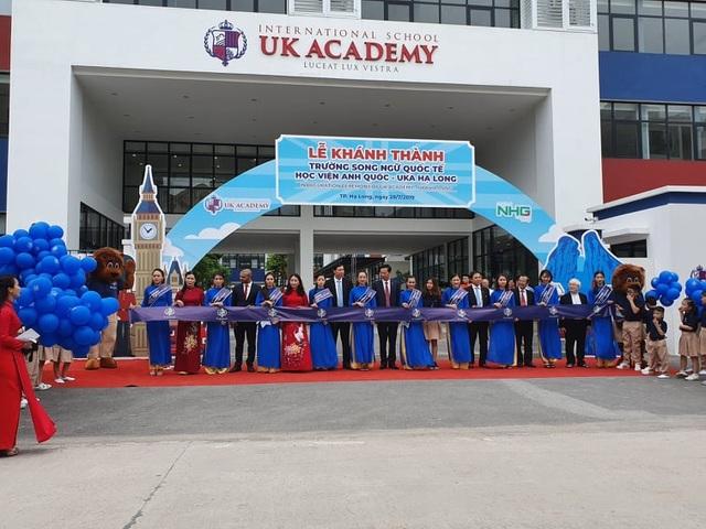 Khánh thành Trường Song ngữ quốc tế Học viện Anh Quốc - UK Academy - 1