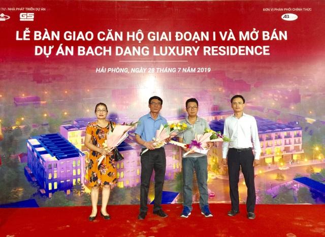 G5 Invest bàn giao nhà đúng cam kết dự án Bach Dang Luxury Residence - 1