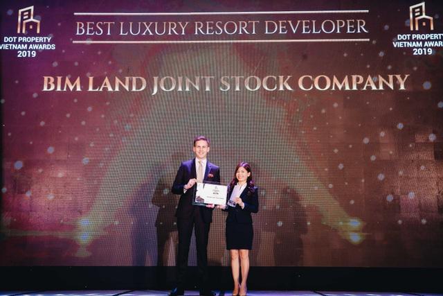 Bim Land tiếp tục nhận giải thưởng danh giá trong lĩnh vực BĐS cao cấp - 1