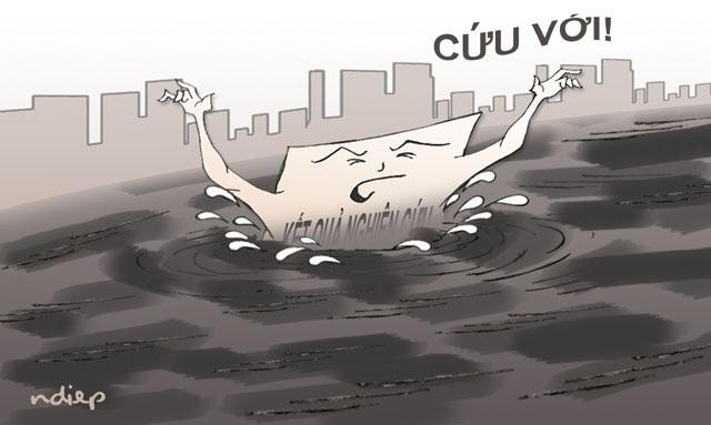 Nỗi lo cho một dòng sông không bao giờ hết ô nhiễm - 1