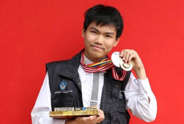Thành tích đáng nể của chàng trai trường Ams hai lần nhận huy chương bạc IMO - 1