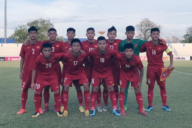 U15 Việt Nam có chiến thắng đầu tiên tại giải U15 Đông Nam Á - 1