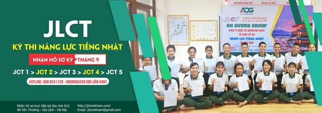 Cơ hội tham gia kỳ thi đánh giá năng lực tiếng Nhật JLCT ở Việt Nam - 2