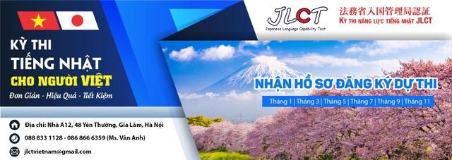 Cơ hội tham gia kỳ thi đánh giá năng lực tiếng Nhật JLCT ở Việt Nam - 6