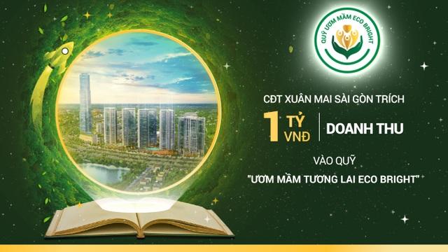 Chủ đầu tư Xuân Mai Sài Gòn công bố quỹ học bổng Eco Bright - 1